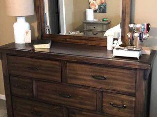 7 Drawer Dresser with Mirror