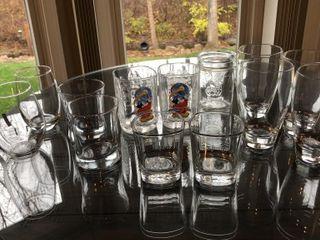 13  Tumbler Glasses
