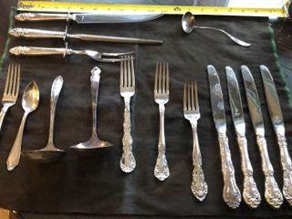15  Silver Plate Silverware