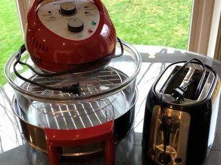 Big Boss Air Fryer  Black   Decker Toaster