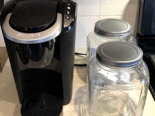 Keurig Coffee Maker with 2 Canisters