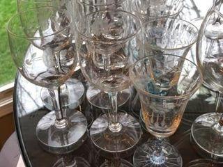 37 pc  Glasses and Stemware