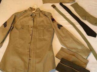 1953 55 Army Uniform