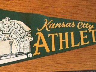 Vintage Felt Kansas City AIJs Pennant