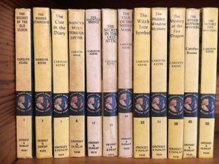 12  Picture Cover Nancy Drew Books