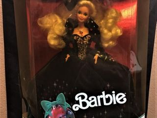 Barbie Happy Holidays Green
