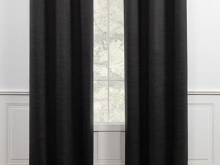 Pair of Chaps Home Brooks Sateen Sheen Textured Curtains