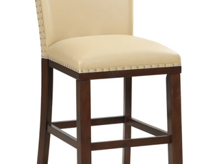 Pair of Greyson living Toledo Counter Stools   Toffee   2 Chairs
