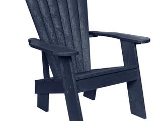 Idria Outdoor Muskoka Adirondack Chair by Havenside   Atlantic Navy