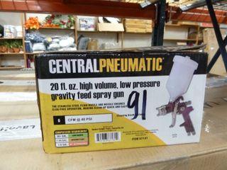 20 Fl  Oz  High Volume  low Pressure Gravity Feed Spray Gun