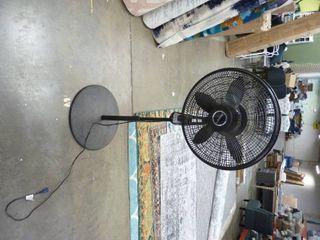 Used lasko Rotating Fan   Black