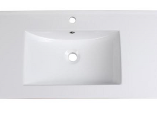 40  Fresca Allier Integrated Sink   White