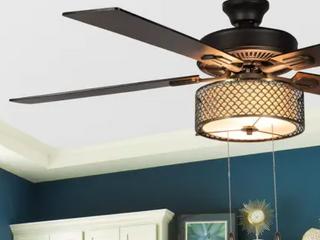 Copper Grove 52  Uonuku 5 Blade Bronze Ceiling Fan