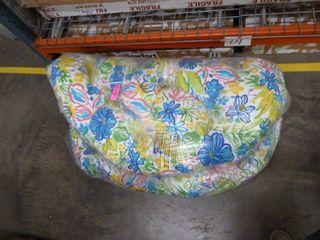 Blazing Needles 52  Indoor Outdoor Papasan Cushion   Multicolored  No Stock Photo Available