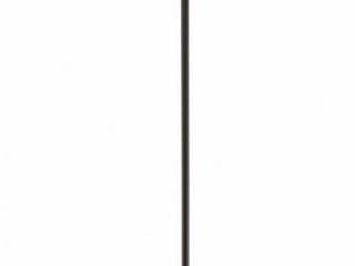 Kichler lighting Tuscany 1 light Mini Pendant   Black w Clear Seeded Glass