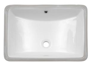 21 3 8  European Style Ceramic Sink   White