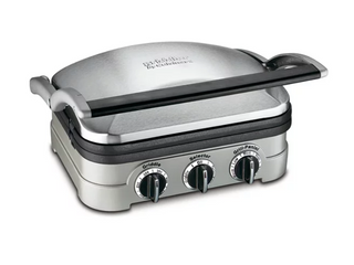 Cuisniart GR 11 Griddler   Grill and Panini Press