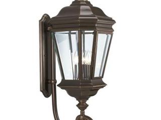 Progress lighting Crawford 4 light Wall lantern   Oil Rubbed Bronze