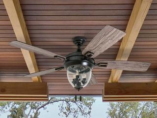 Honeywell 52  Glencrest Oil Rubbed Bronze lED Ceiling Fan