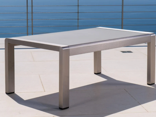 Cape Coral Outdoor Aluminum Coffee Table