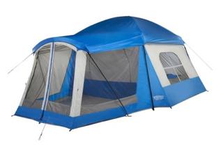 Klondike 8 Person Tent   Blue