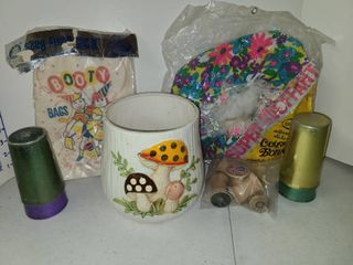 Various Vintage Party Items