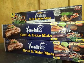 Yoshi Grill and Bake Mats New In Box lot of 2
