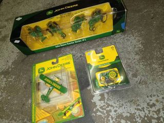 John Deere Scale Models and Ornaments New In Packages