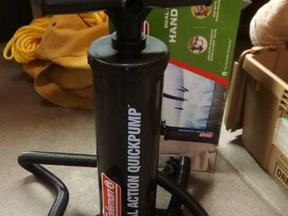 Coleman Dual Action Quick Pump New in Box