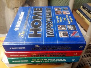 Black and Decker Home Improvement Books