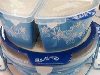 Temptations Holiday Floral lace Bakeware