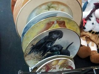 Assorted Handpainted and Collectors Plates