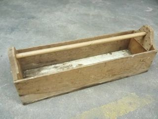 Wood Toolbox 12 x 35 x 10 5 in
