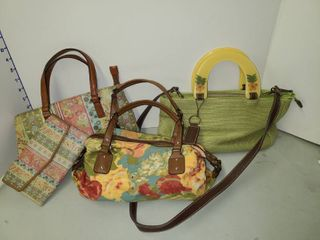 Relic Floral Handbags with Fossil Purse and Matching Wallet