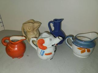 Trico and Other Made In Japan Bone China and Porcelain Mini Pitchers