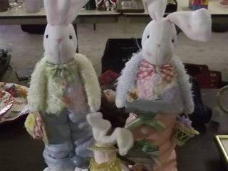 Easter decor   bunnies