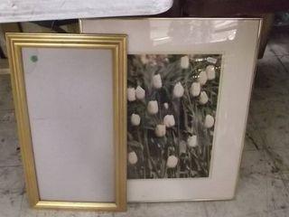 2 framed artwork
