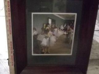 ballerina framed art