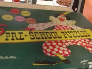 pre school puzzles