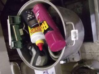 bug spray   train car   stock pot