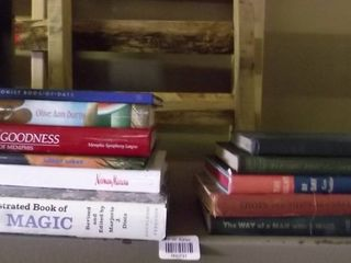 gardening and cook books