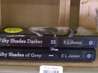 books   50 shades of gray and 50 shades darker