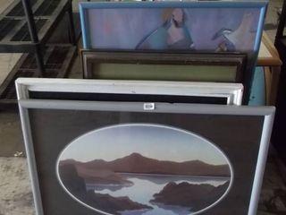 2 nice framed art