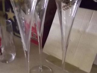 2000  glass flutes