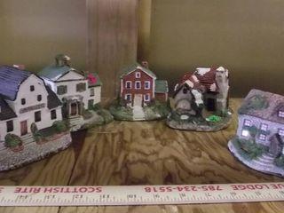 tiny village buildings