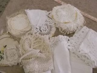 lace panels and items