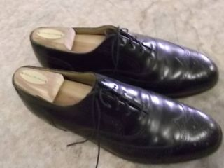 Mens leather soled wingtips size 10