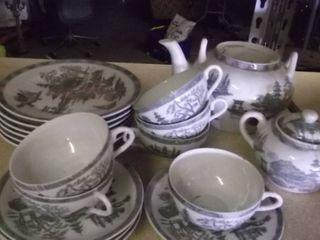 china tea cups   tea pots   sugar bowls   saucers
