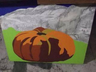 pumpkin artwork