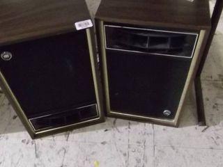 2 home speakers
